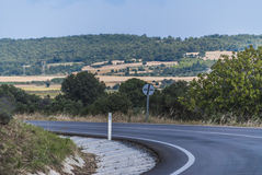 Highland road Royalty Free Stock Photography