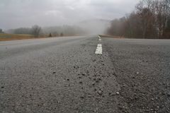 Highland Scenic Highway 150 Stock Photo