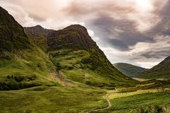 Highland, Sky, Nature, Mountainous Landforms Royalty Free Stock Photos