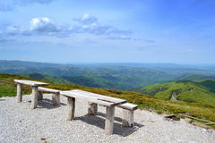 Highland viewpoint Stock Image