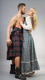 Highlander royalty free stock image