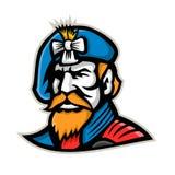 Highlander Mascot Royalty Free Stock Photo