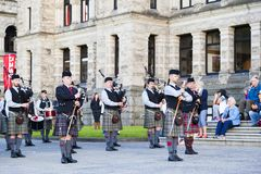 highlanders Fotografia Stock