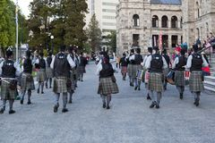 highlanders Fotografia Stock Libera da Diritti