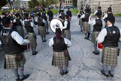 highlanders Immagine Stock Libera da Diritti
