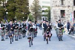 highlanders Fotografie Stock