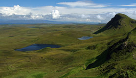 Highlands. Great view in skye - scotland stock photo