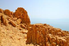 Highlands. In En Gedi Nature reserve. Juden Desert. Israel Royalty Free Stock Image