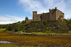The Highlands - island of Skye, Dunvegan castle Stock Image