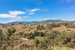 Highlands landscape in rural area of Guatemala. Stock Photos