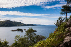 Highlands landscape in Scotland Royalty Free Stock Images