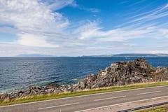 Highlands landscape in Scotland Royalty Free Stock Image