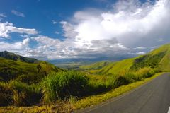 Highlands. In the highlands of Papua New Guinea royalty free stock images