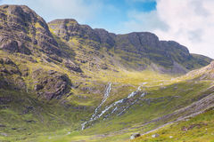 Highlands and Plains Royalty Free Stock Photography