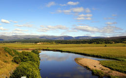 Highlands of Scotland. Beautiful landscape in the highlands of Scotland Stock Images