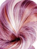 Highlight hair texture background Royalty Free Stock Image