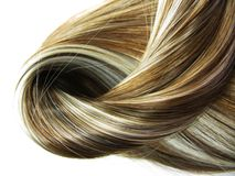 Highlight hair texture background Royalty Free Stock Images