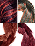 Highlight hair texture background Stock Images