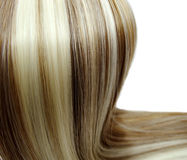Highlight hair texture background Royalty Free Stock Photography