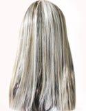 Highlight hair texture human head Royalty Free Stock Image