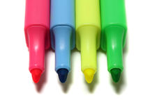 Highlight Pens Stock Images