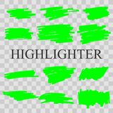 Highlighter stock image