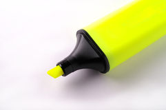 Highlighter isolated with clip Stock Photos