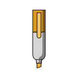 Highlighter marker icon Royalty Free Stock Images