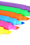 Highlighter markers D Royalty Free Stock Image