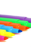 Highlighter markers A Royalty Free Stock Photos