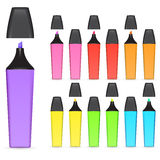 Highlighter pen Stock Image