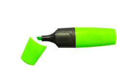 Highlighter pen Royalty Free Stock Photo