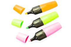 Highlighter pen Stock Image