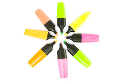 Highlighter pen Stock Photos