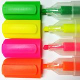 Highlighter pens Royalty Free Stock Photos