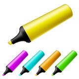 Highlighter set Stock Photos