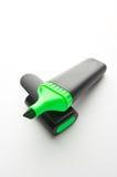 Highlighter verde Fotografia Stock