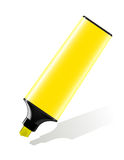 Highlighter yellow Stock Photography