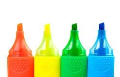 highlighters цвета Стоковое фото RF
