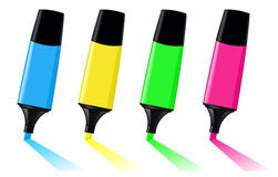 highlighters royalty ilustracja