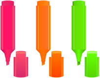 Highlighters Stock Images