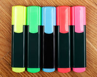 Highlighters Foto de Stock Royalty Free