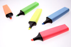 Highlighters Royalty Free Stock Image