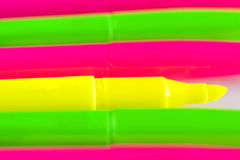 Highlighters Zdjęcie Royalty Free