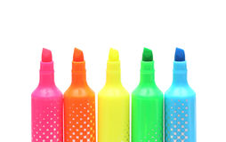 highlighters Stock Foto
