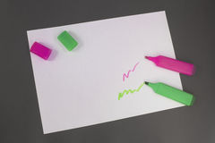 Highlighters Royalty Free Stock Images