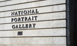 National Portrait Gallery stock photo