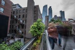 highline纽约 免版税库存照片