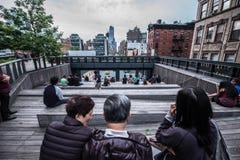highline纽约 免版税库存图片