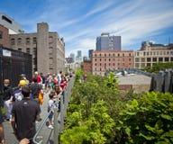Highline à New York Photos stock